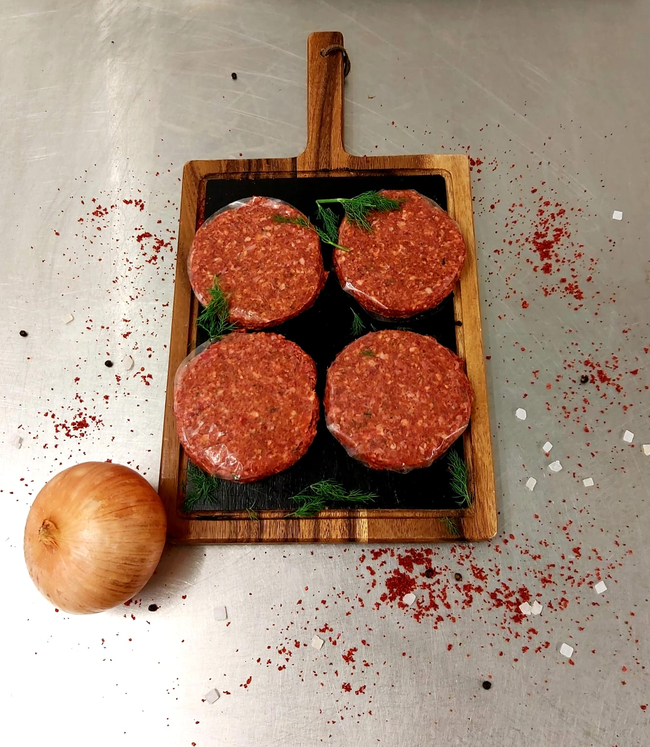 Chilli Beef Burgers 4 pack